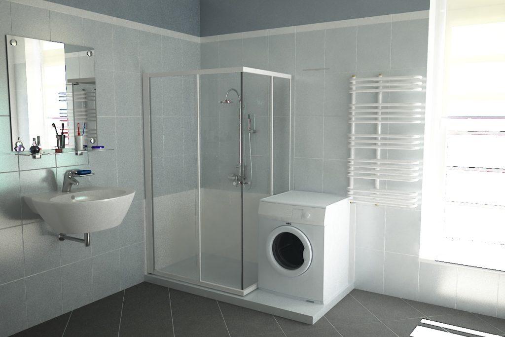 Cambio la vasca in doccia per guadagnare spazio nell'ambiente bagno.